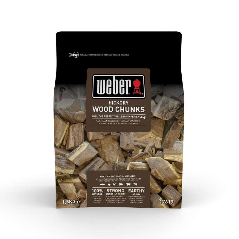 Weber Räucherhölzer Hickory 1,5 Kg