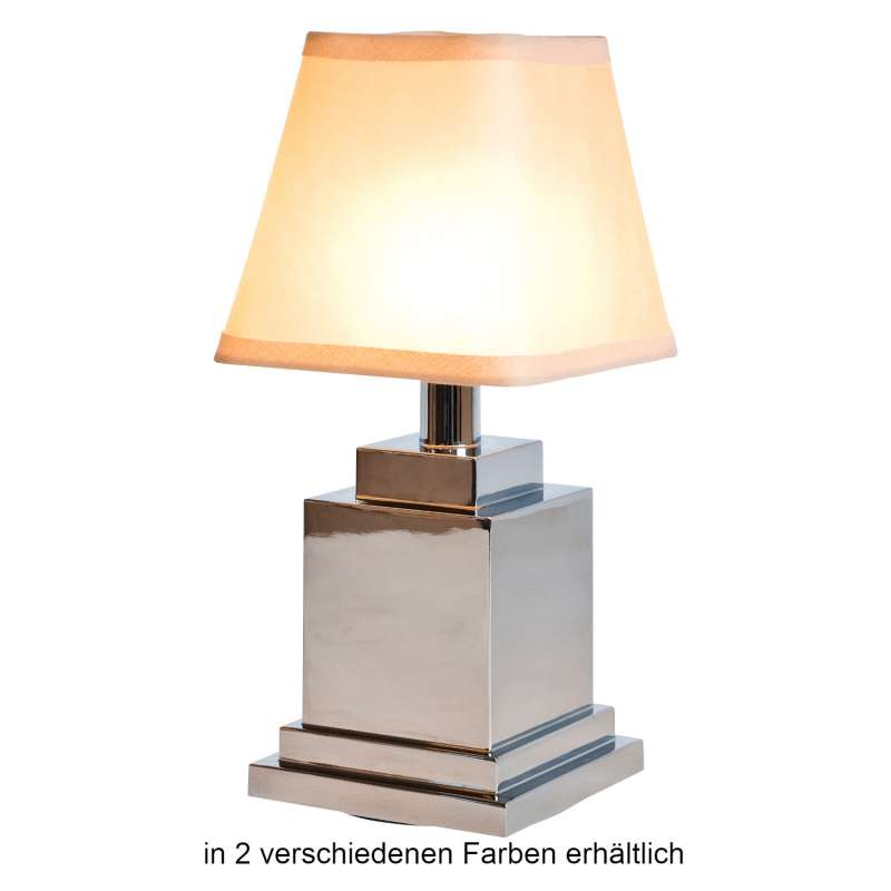 NEOZ kabellose Akku-Tischleuchte RITZ UNO LED-Lampe dimmbar 1 Watt 27,5x13 cm