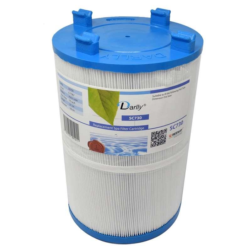 Darlly SC730 Filter Ersatzfilter Lamellenfilter für Dimension One Spas Whirlpool