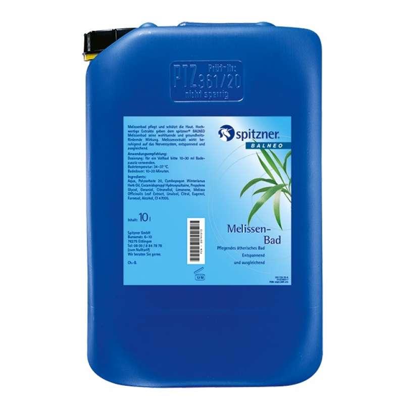 Spitzner Melissenöl Bad 10 L (10000 ml) Ätherische und Extraktbäder Badezusatz