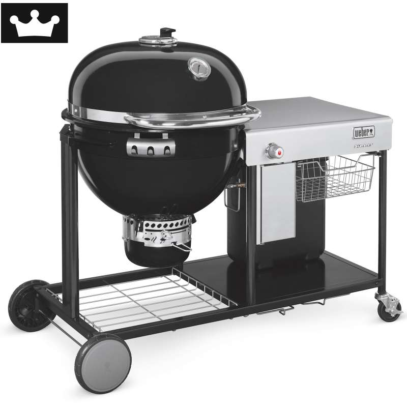Weber Holzkohlegrill Summit Charcoal Grilling Center ø 61 cm Black
