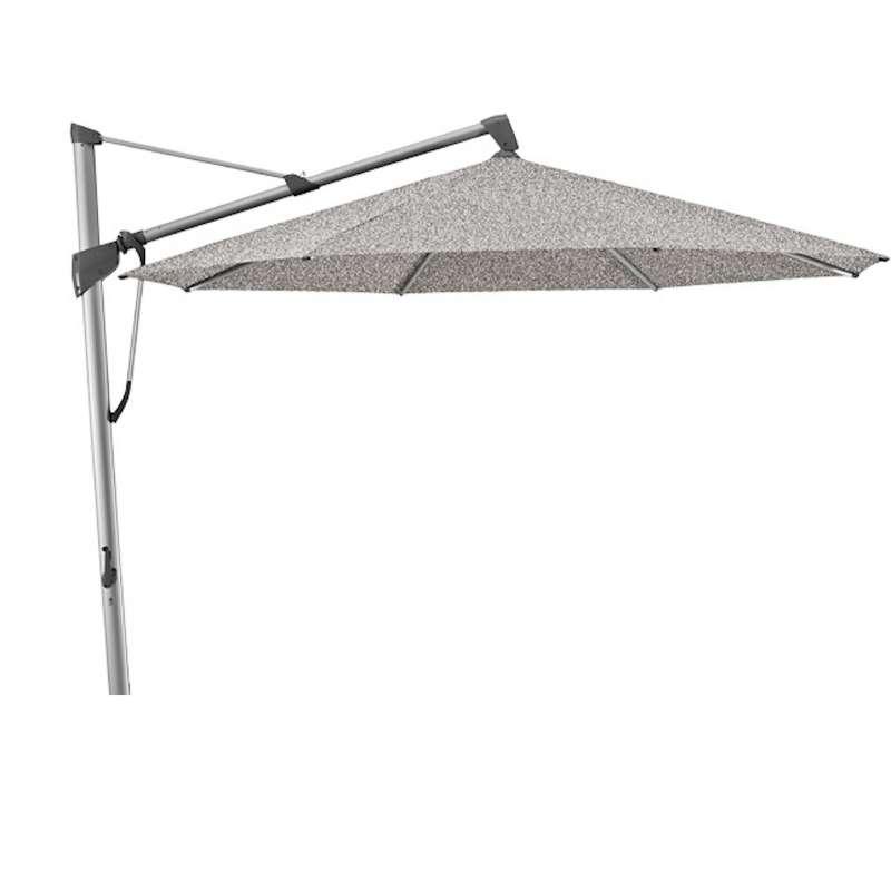 GLATZ Sonnenschirm SOMBRANO® S+ rund ø 400 cm Stoffklasse 4 Smoke 420