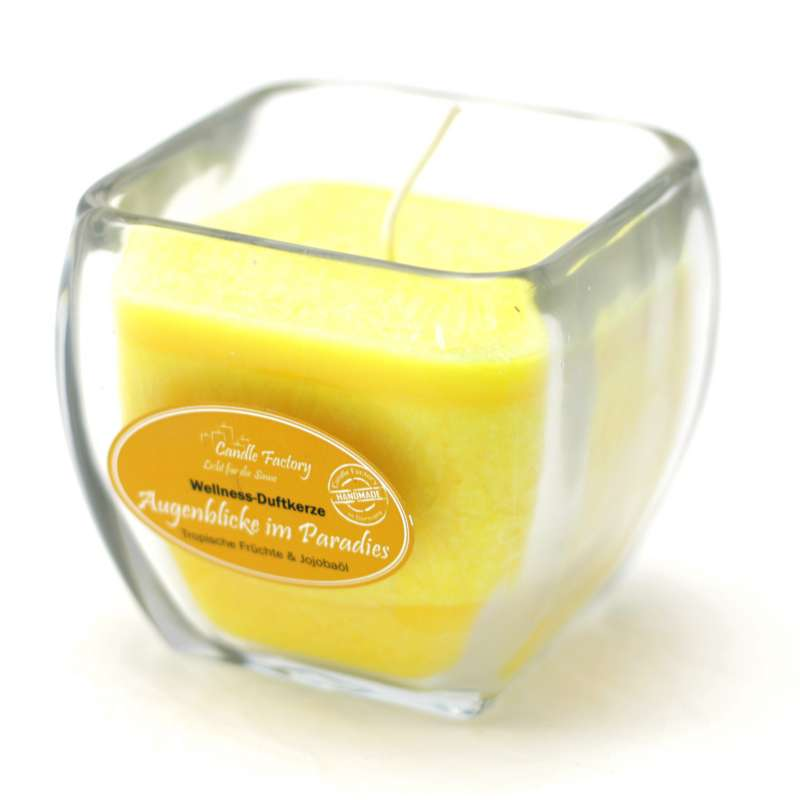 Candle Factory Wellness Duftkerze Augenblicke im Paradies Dekokerze 800-007
