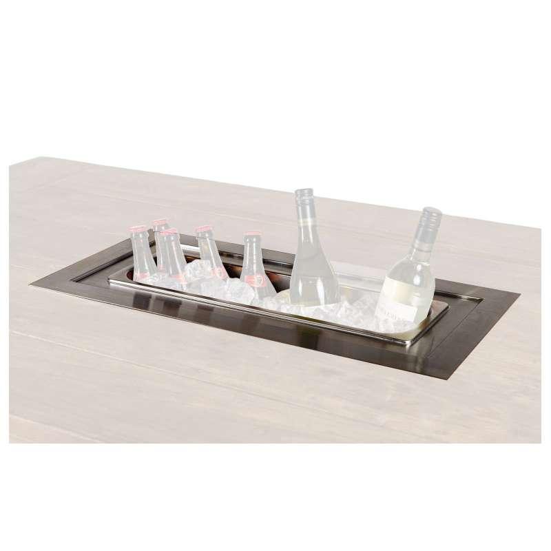 Happy Cocooning Mania Einbau-Weinkühler rechteckig large 99x32 cm Sektkühler Wine Chiller Getränkekü