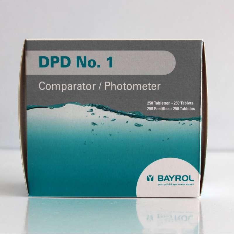 Bayrol DPD No. 1 Tabletten für elektronischen Pooltester Chlor/Bromwert 250 Tab