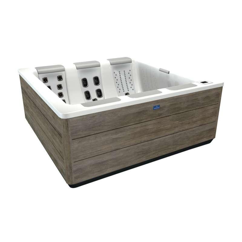 Villeroy & Boch Whirlpool S7D Just Silence Snow Timber Design Line für 5 Personen