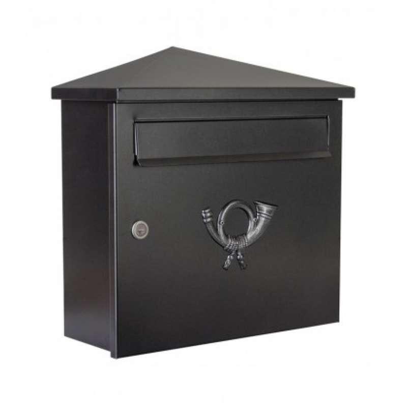 Heibi Briefkasten PINA verzinkt pulverbeschichtet Glimmer 64283-028