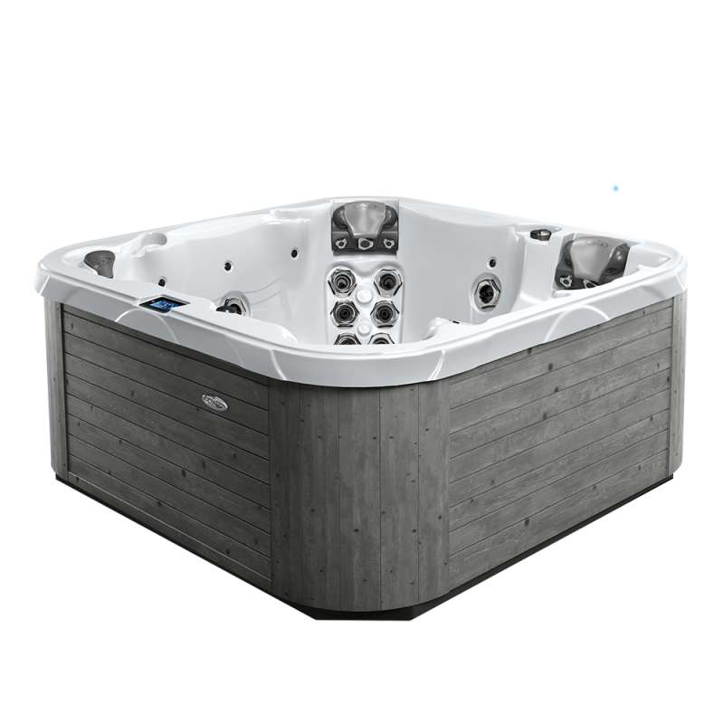 Dimension One Aurora Spa Whirlpool für 5-6 Personen 213 x 213 x 91 cm grau/weiß