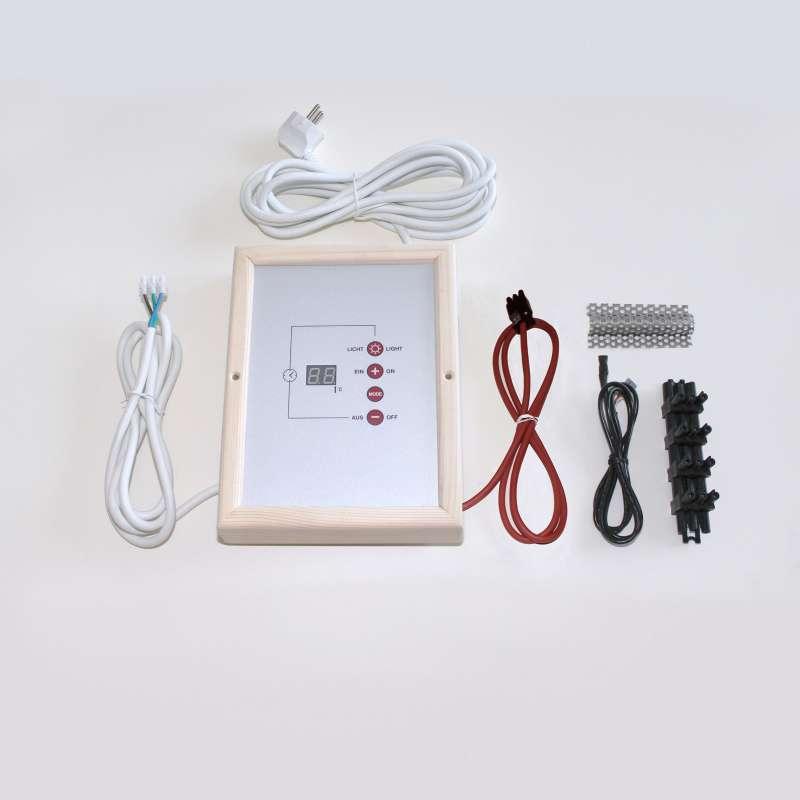 Infraworld Steuerungsset digital Plug&Play für Flächenheizelemente B3420