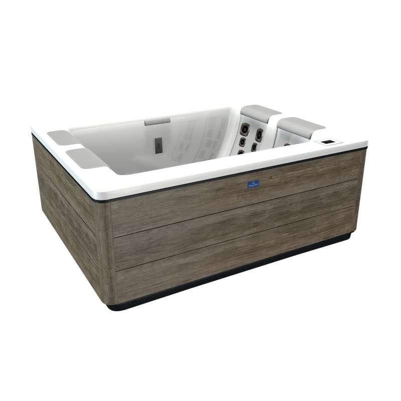 Villeroy & Boch Whirlpool S5D Just Silence Compact Snow Timber Design Line für 3 Personen