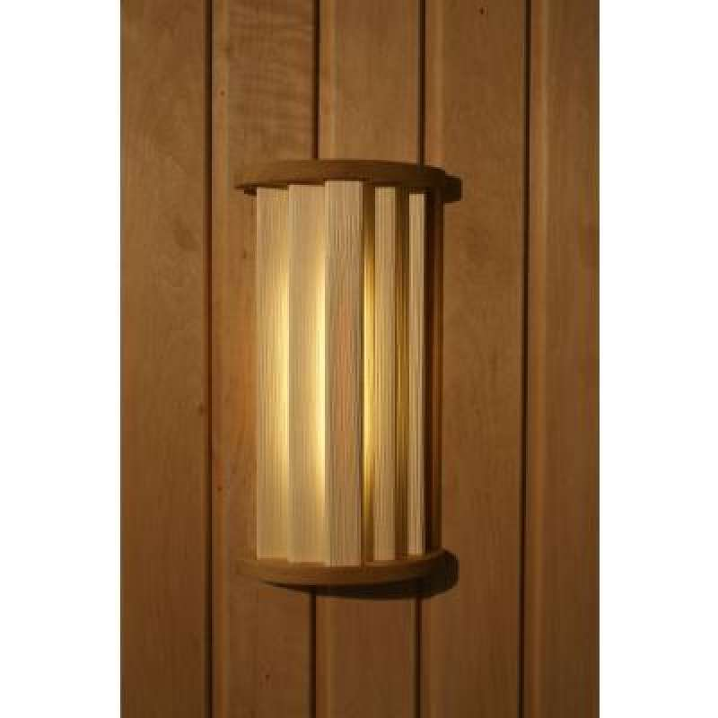 Nikkarien Sauna LED 27 - EEK: A+ Spektrum A++ bis E - Espenholz 46327 Leuchte