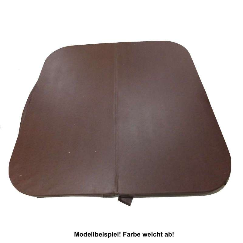 Whirlpoolabdeckung V&B 239 x 239 cm Whirlpool Cover 552/662/682 Chocolate