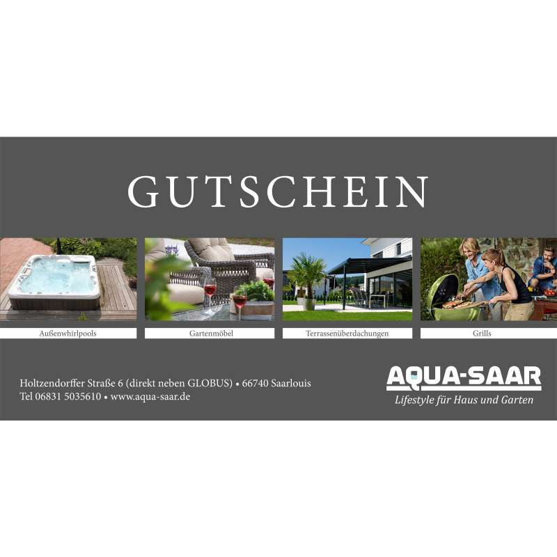 Aqua-Saar Geschenkgutschein für Sie und Ihn 25 €