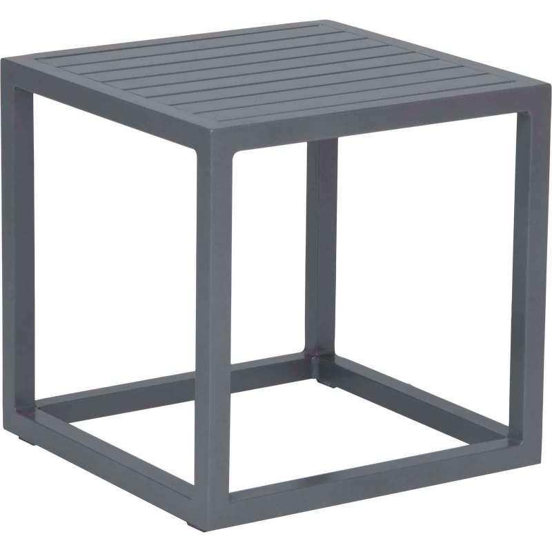 Stern Beistelltisch Robin Aluminium graphit 40x40 cm Loungetisch Tisch