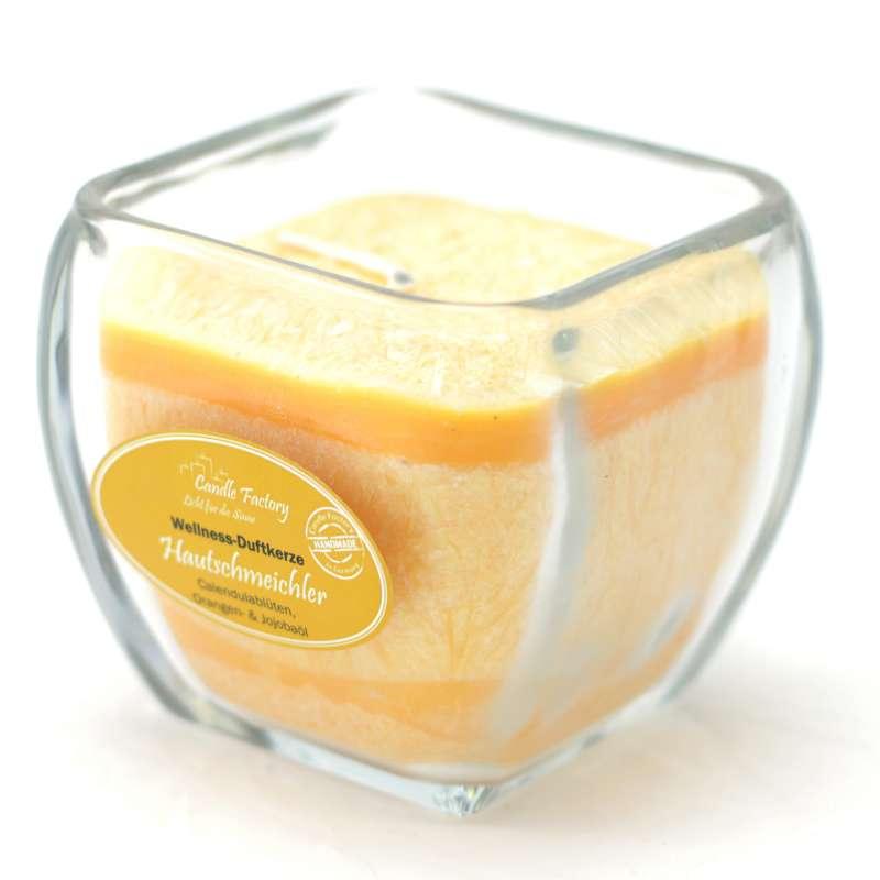 Candle Factory Wellness Duftkerze Hautschmeichler Dekokerze 800-003