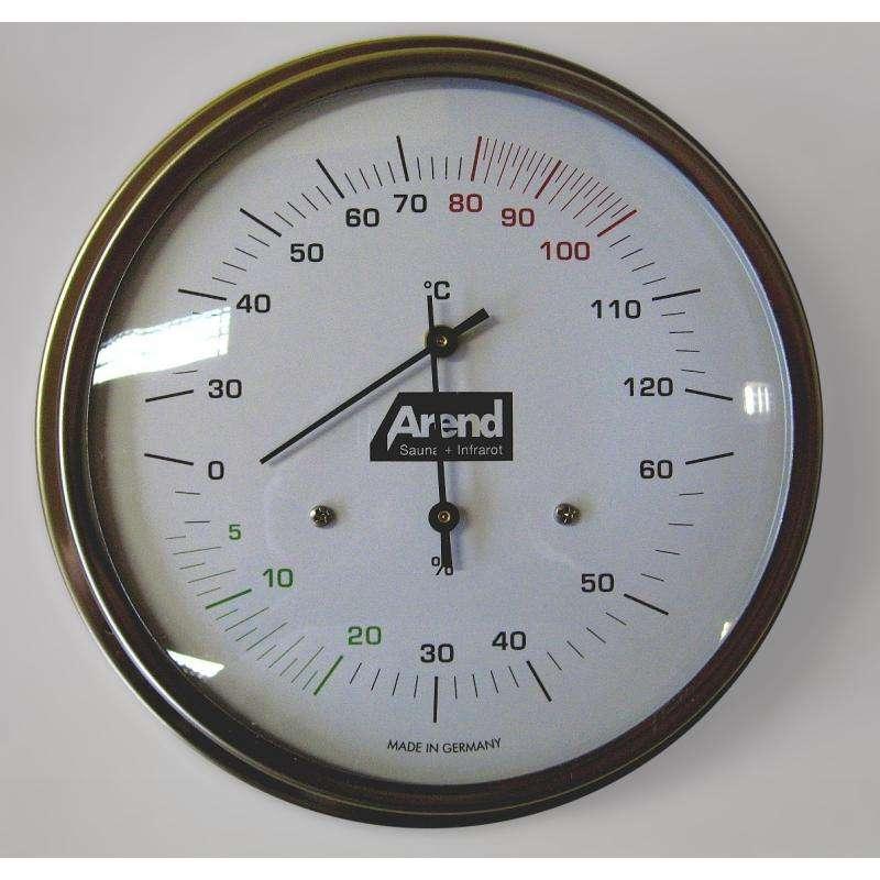Arend Sauna Thermo-Hygrometer Komfort für Saunakabine