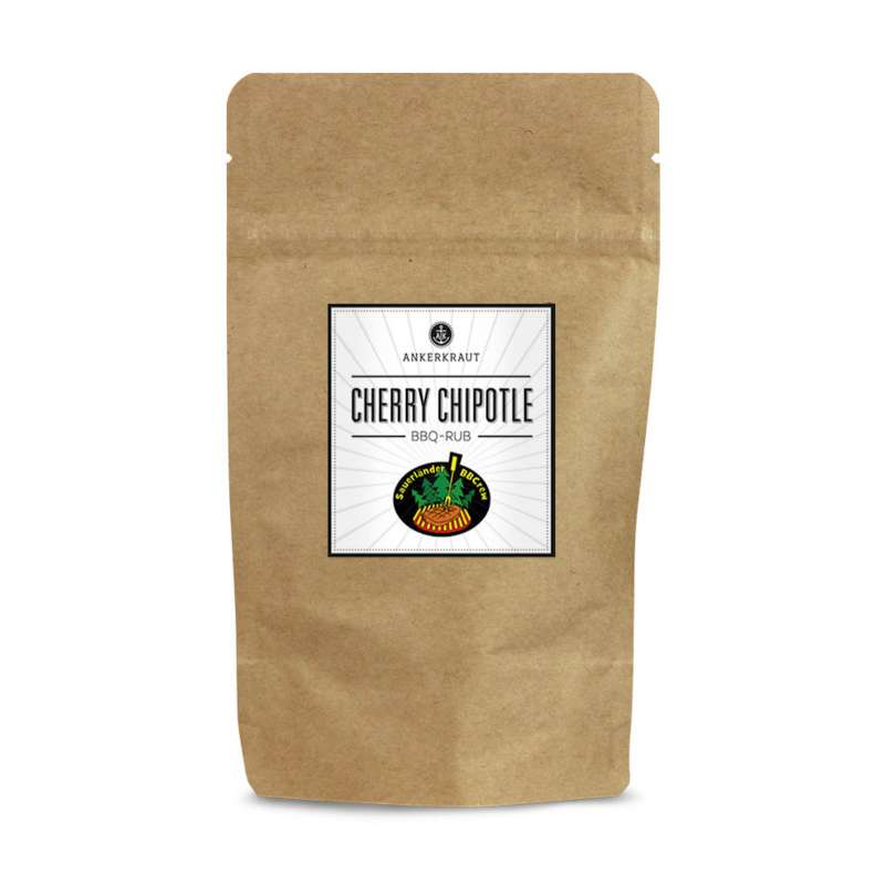 Ankerkraut Cherry Chipotle BBQ Rub Gewürzmischung in der Tüte Nachfüllpack 250 g