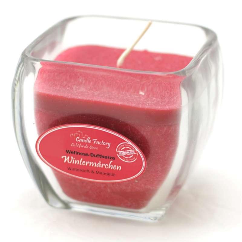 Candle Factory Wellness Duftkerze Wintermärchen Dekokerze 800-011