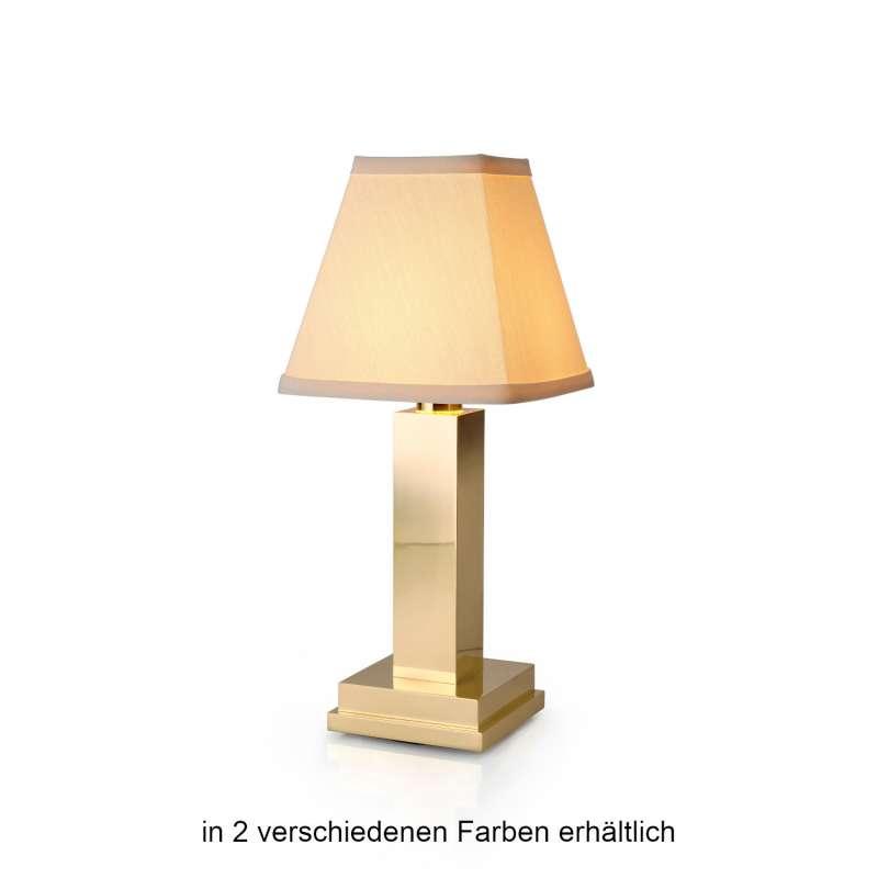 NEOZ kabellose Akku-Tischleuchte ALBERT UNO LED-Lampe dimmbar 1 Watt 27,5x12 cm