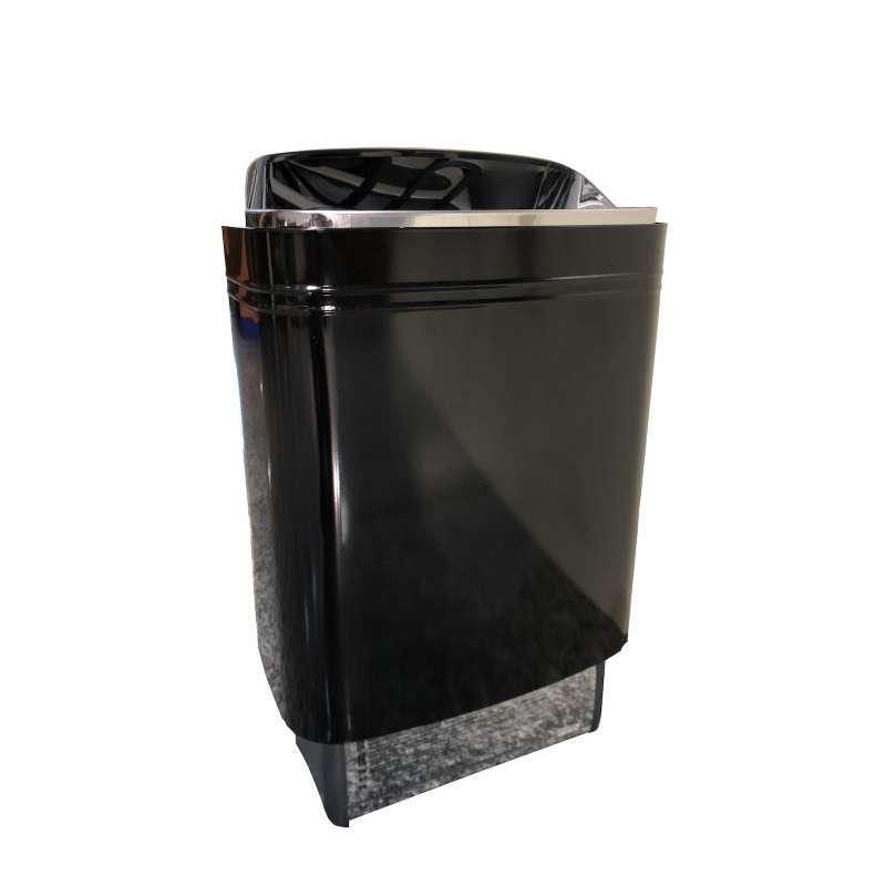 Harvia Top Steel 4,5 kW Saunaofen Elektrosaunaofen elektrobeheizter Ofen schwarz