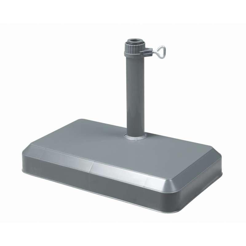 Doppler Balkonsockel Balkon 20 kg Balkonschirmständer anthrazit Rohr ø 25/32 mm