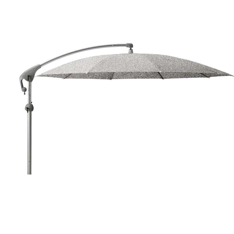 GLATZ Sonnenschirm PENDALEX® P+ rund ø 325 cm Stoffklasse 5 Silver-Mélange 652