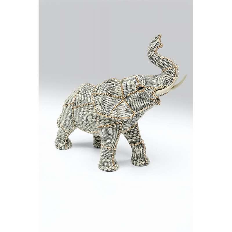 KARE Design Deko Objekt Walking Elephant Small hochwertige Deko Figur Elefant 52675