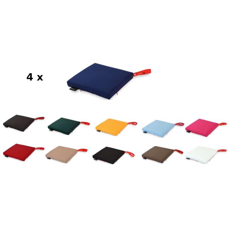 Moonich Heatme Akku-Heizkissen 4er-Set kabellos in 11 Farben einfarbig