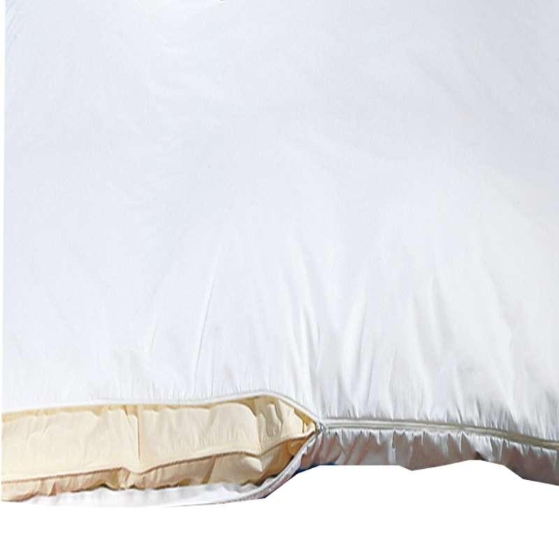 Sanowell Bettwäsche Morpheus Milbensperre Bettbezug Größe 155 x 200 cm Allergikerbezug