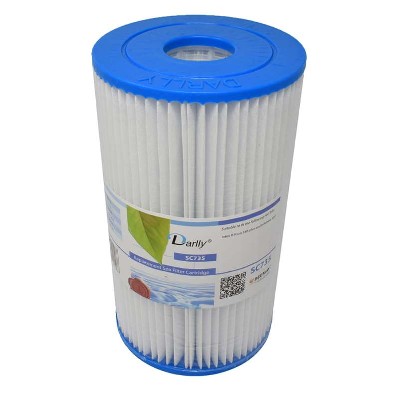 Darlly® Filter Ersatzfilter SC735 Lamellenfilter Intex B Pools Whirlpool