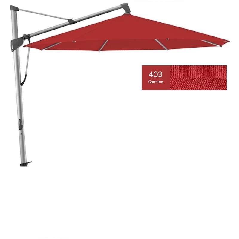 GLATZ Sonnenschirm SOMBRANO® S+ rund ø 400 cm Stoffklasse 4 Carmine 403