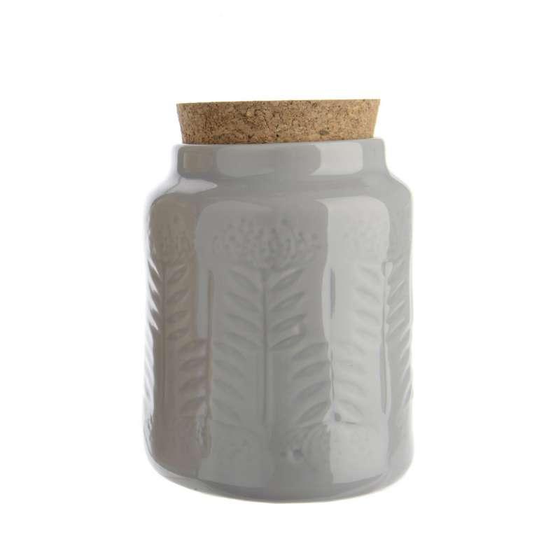 Kaemingk Steingutgefäß Steinguttopf praktischer Mehrzwecktopf grau
