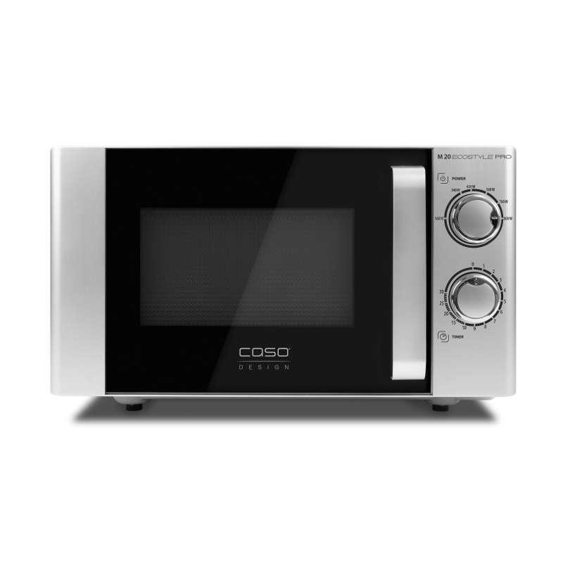 Caso Design M 20 Ecostyle Pro Design Mikrowelle 800 Watt ca. 20 Liter Garraum