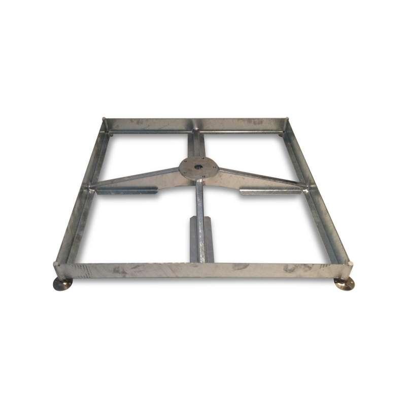 GLATZ Sockel M4 für 8 Platten 120 kg Sonnenschirm aus Stahl