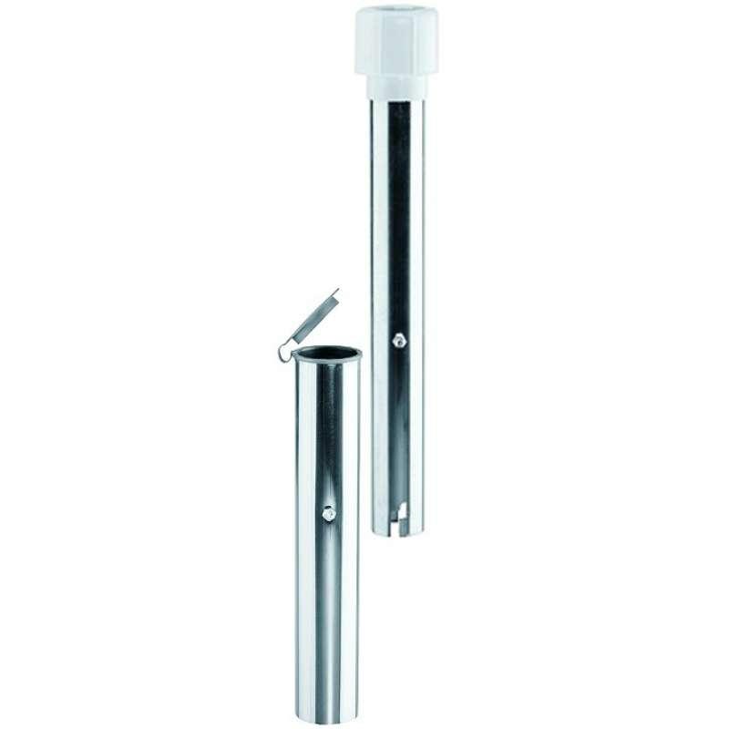 Schneider Bodenhülse Schirmbefestigung für 50 mm Rohr extra lang Bodenanker