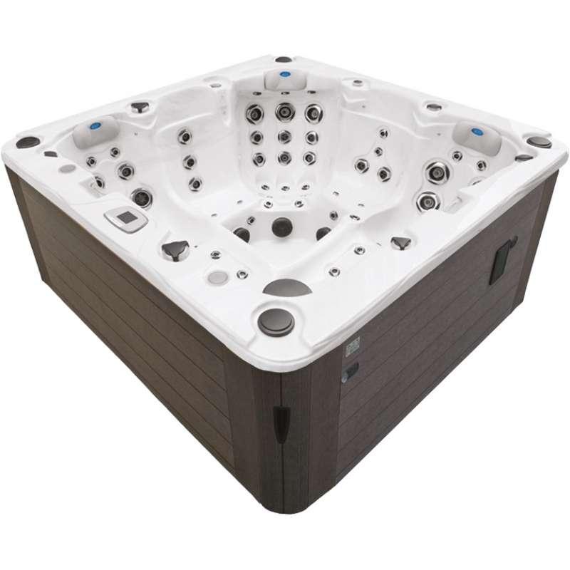 Fox Spa Mystic Whirlpool DRE2000-2CL für 5 Personen ca. 200 x 200 x 90 cm
