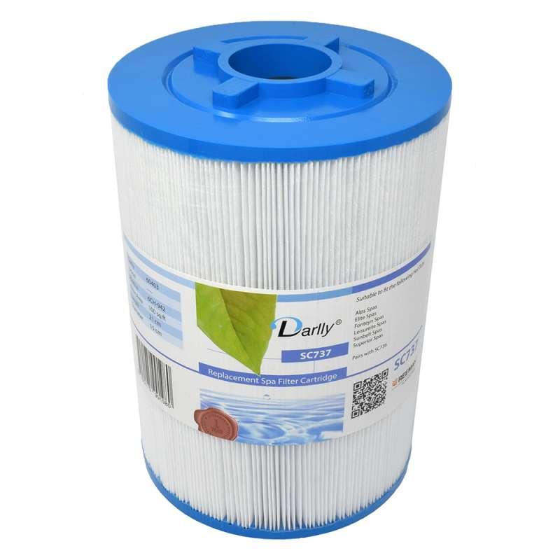 Darlly SC737 Filter Lamellenfilter Alps Elite Fonteyn Leisureite Superior Spas