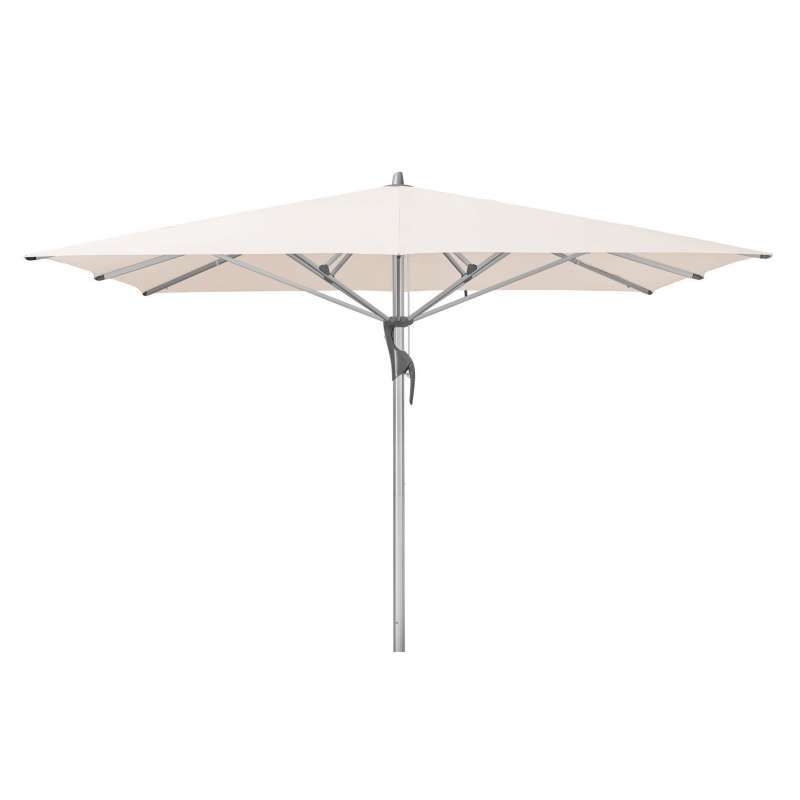 GLATZ Sonnenschirm FORTELLO® LED 350 x 250 cm Stoffklasse 4 Vanilla 453