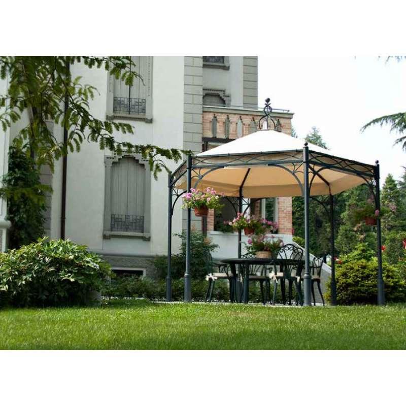UNOSIDER Pavillon Hexagon Novecento geschmiedetes Eisen