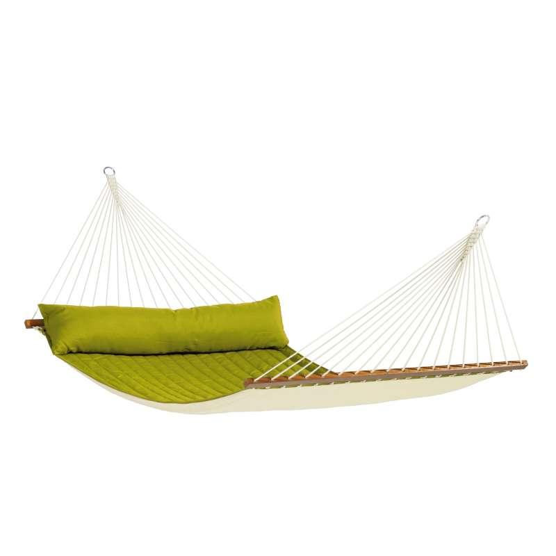 La Siesta Kingsize-Hängematte ALABAMA avocado grün Stabhängematte NQR14-41 optional mit Gestell