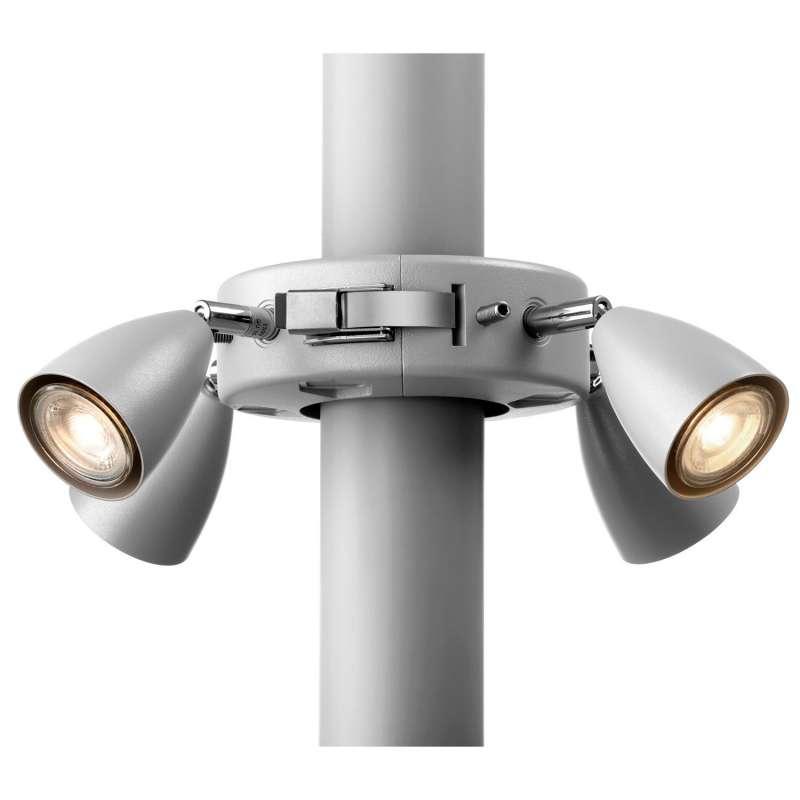 Etherma Solamagic Licht am Mast Sonnenschirm-Beleuchtung 4x 5 Watt 230 V