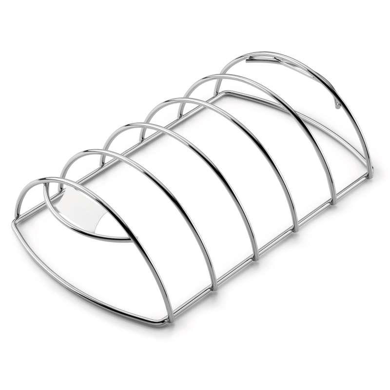 Weber Spare-Rib-Halter für Grills ab ø 47 cm und Gasgrill ab Q 2000 Serie