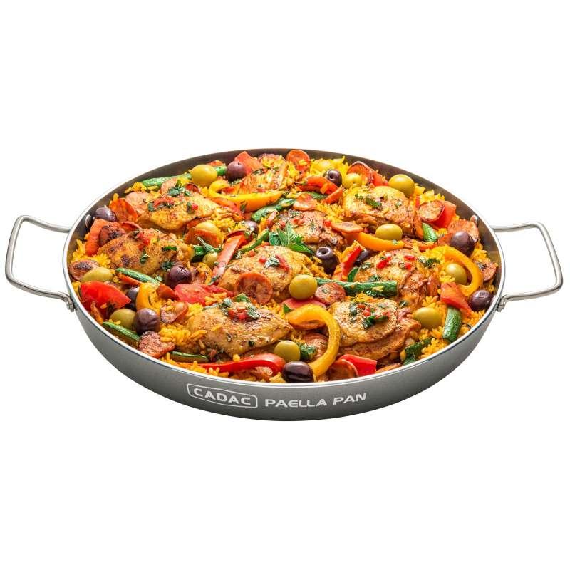 Cadac Paella Pfanne 30 Grillpfanne ø 28 cm für Safari Chef 30 und 2-Cook 8635