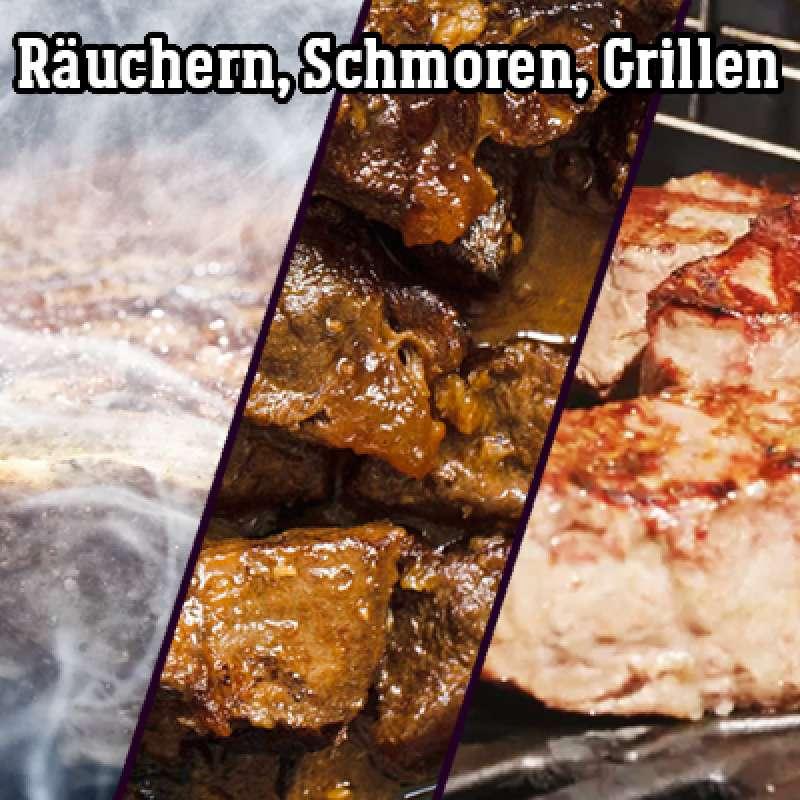 20.11.2021 Grillkurs Räuchern, Schmoren, Grillen - 4 h - Samstag -