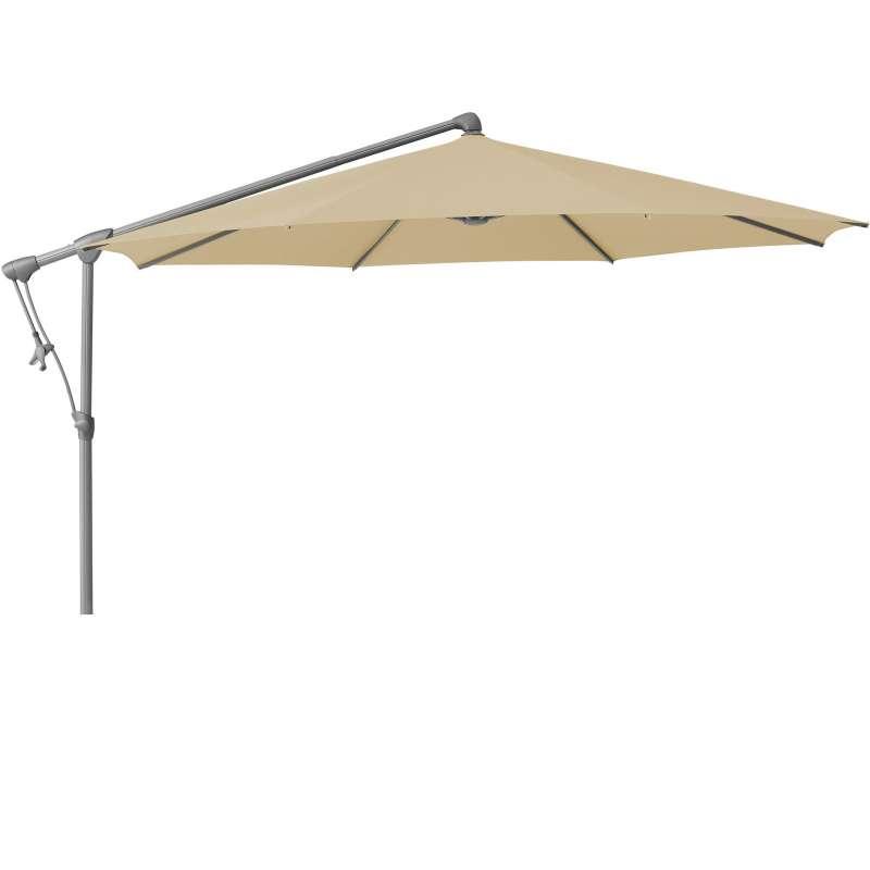 GLATZ Sonnenschirm SUNWING® C+ rund ø 300 cm Stoffklasse 4 Cream 422