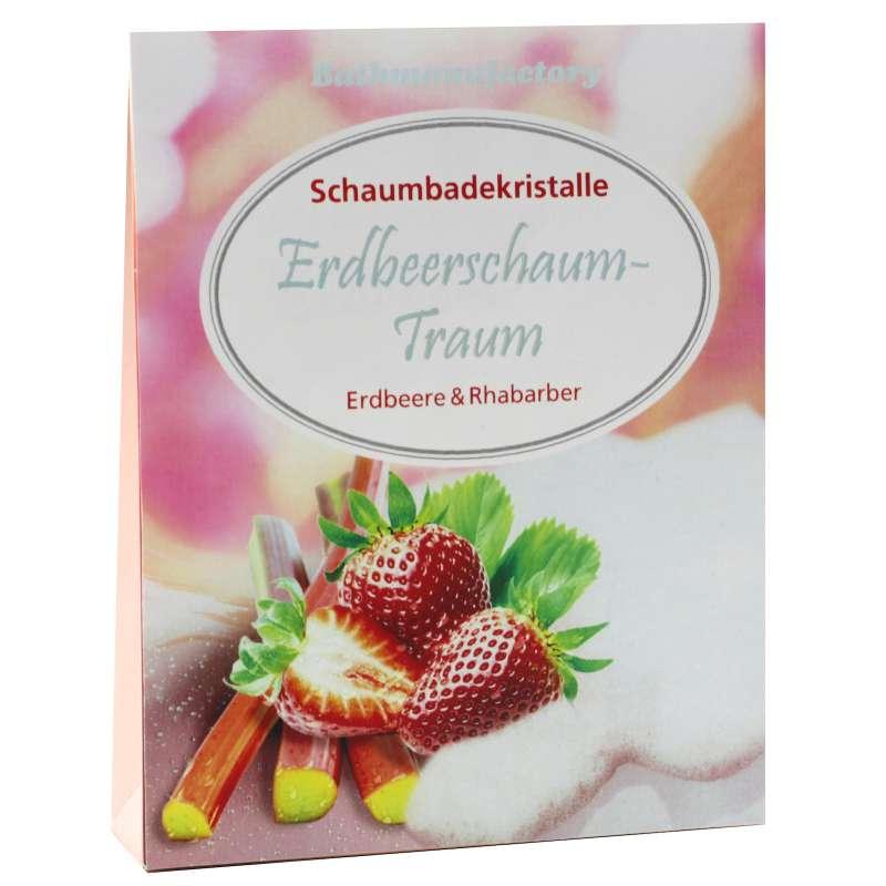 Candle Factory Aromabadekristalle Erdbeerschaum-Traum Badeschaum 40-00001