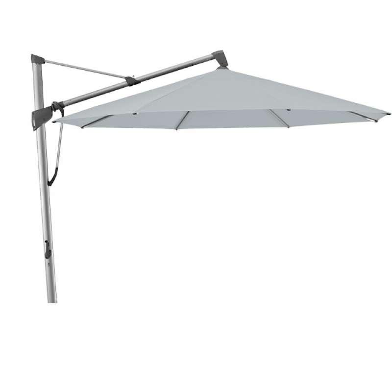 GLATZ Sonnenschirm SOMBRANO® S+ 350 x 350 cm Stoffklasse 5 Chrome 665