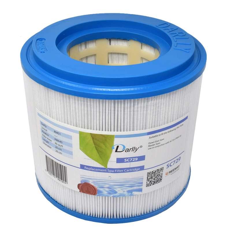 Darlly® Kartuschenfilter Ersatzfilter SC729 Whirlpool Down East Spas Master Spas