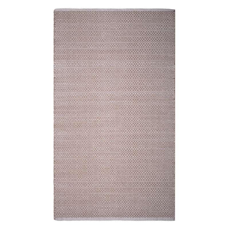 Fab Habitat Teppich Bodhi Beige aus recycelter Baumwolle 240x300 cm