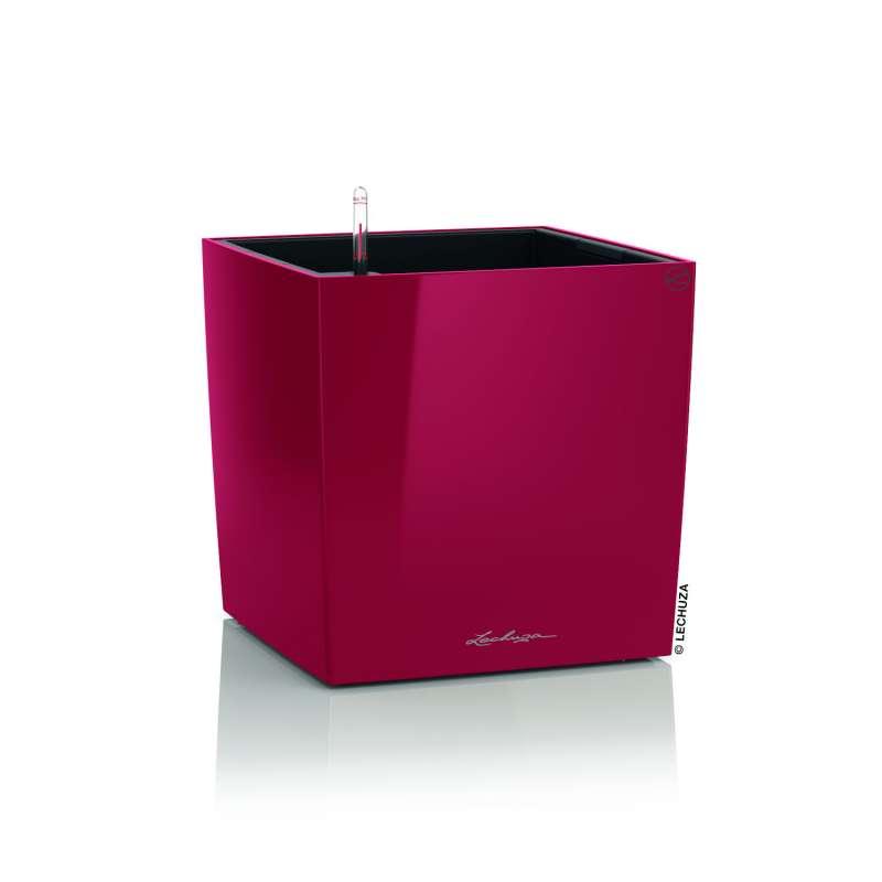 Lechuza Cube Premium 40 Blumentopf Bewässerungssystem 40x40x40 cm 31 L 7 Farben Pflanzgefäß